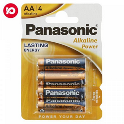 Батар Panasonic  АА Alkaline Power бл.4шт