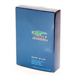 *Т/вода д/мужчин  Crocodile power deep blue  100 мл Мин.воды СИН
