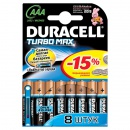 Батарейки  Duracell TURBO MХ 2400 ААА блистер 8шт