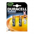 Батарейки  Duracell TURBO MN 2400 ААА блистер 2шт